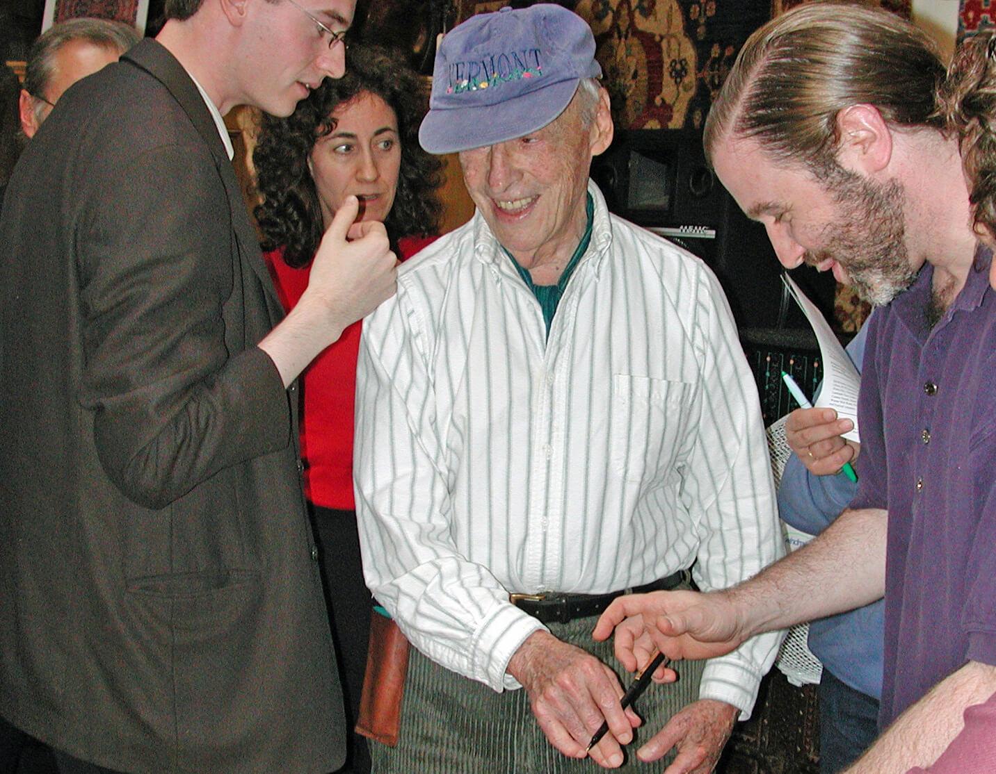 Saul Bellow at the Brattleboro Literary Festival